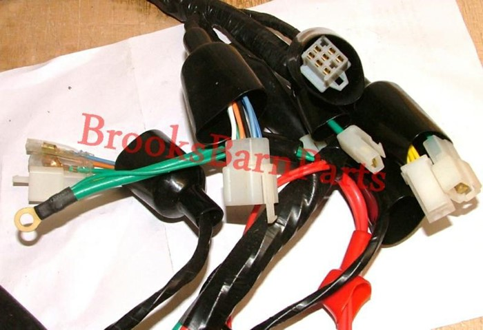 Apache Wiring Loom Also Fits Pulse Adrenaline  Rmr125