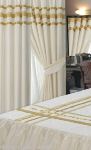 Changingbedrooms Com Cream Gold Glamour 200tc Egyptian