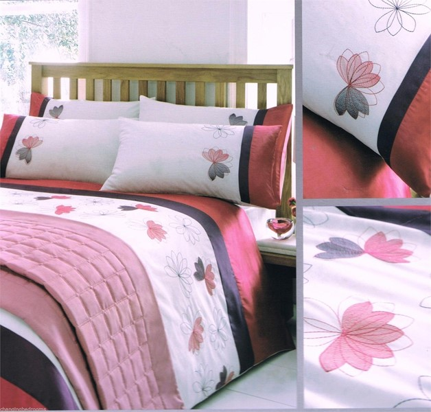 Changingbedrooms Com Double Size Luxury Embroidered