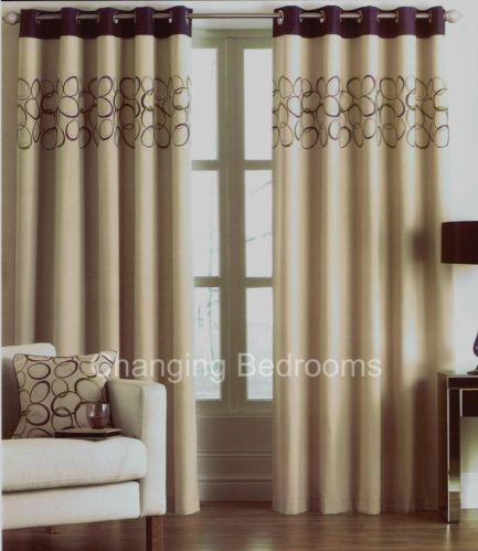 Sale Halo Aubergine Beige Fully Lined