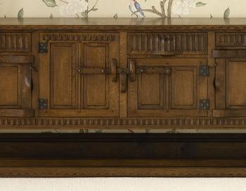 Long Oak Sideboard