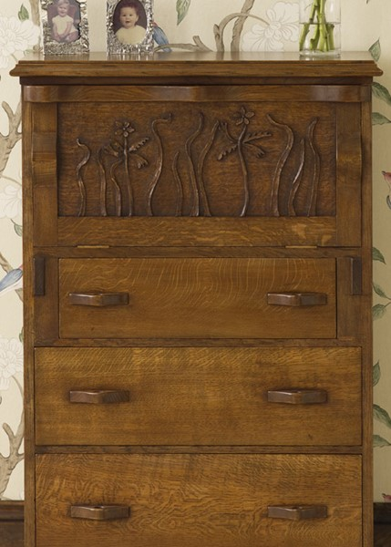 oak writing bureau. Black Bedroom Furniture Sets. Home Design Ideas