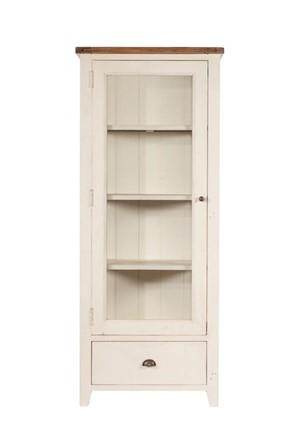 1 Door Display Cabinet - Cotswold Dining Furniture