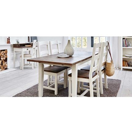140 Cm Ext Dining Table - Cotswold Dining Furniture
