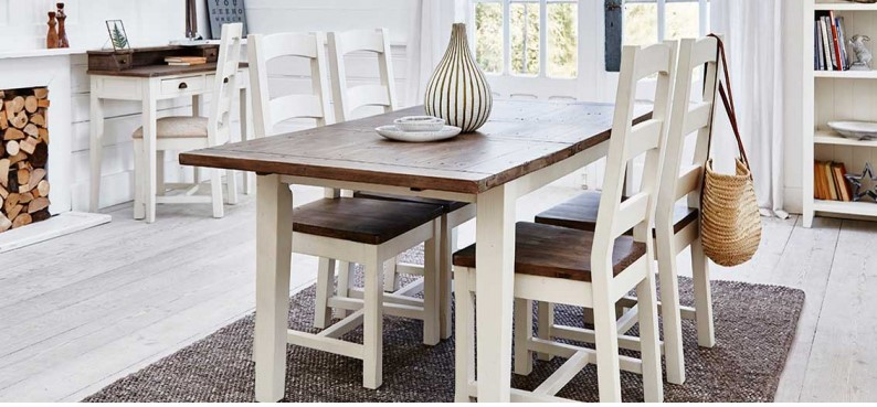 140Cm Ext Dining Table - Cotswold Dining Furniture