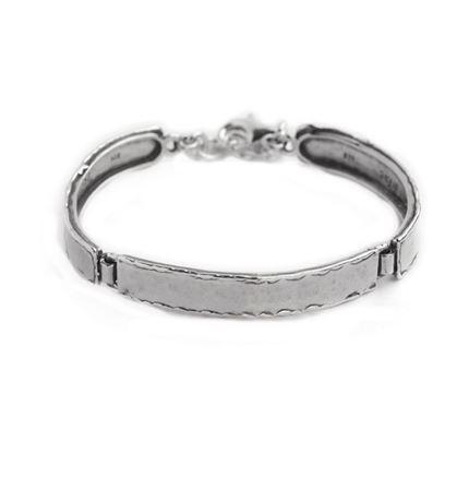 3 links silver bracelet