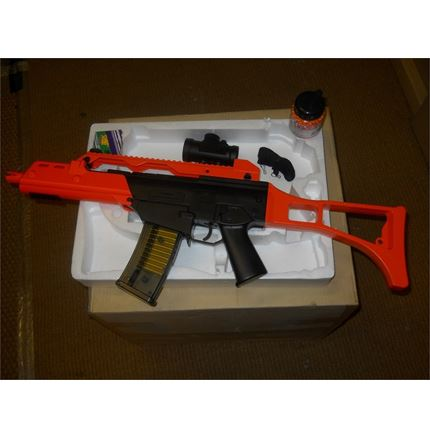 Airsoft BB Gun bundle - M41GL++ SPRING AIRSOFT RIFLE + 1000 bbs