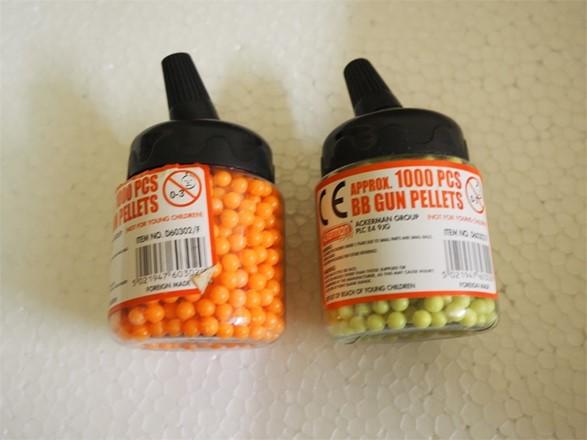 Airsoft BBs - pellets - 4000 x 0.12G budget