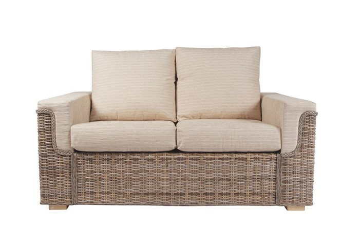 Bath 2 seater sofa - Cane Furniture by Desser