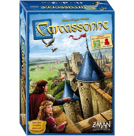 Carcassonne game - board game