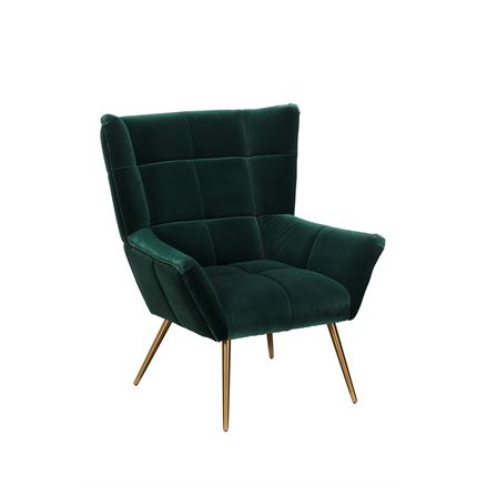 Cocktail Armchair - Green
