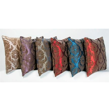 Cushions with brown flocking - pangea (56cm)