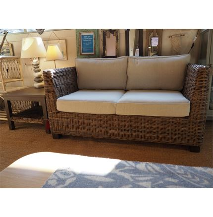 EX DISPLAY Tuscany Sofa - 2 Seater + Free Coffee Table by Pacific Lifestyle