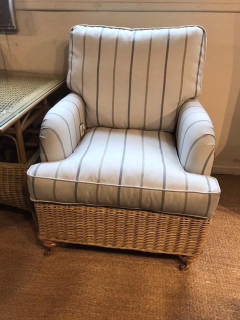 Ex Display Seville Armchair - Cane Furniture by Desser