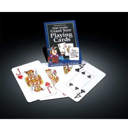 Giant Size Playing Cards (by Paul Lamond)