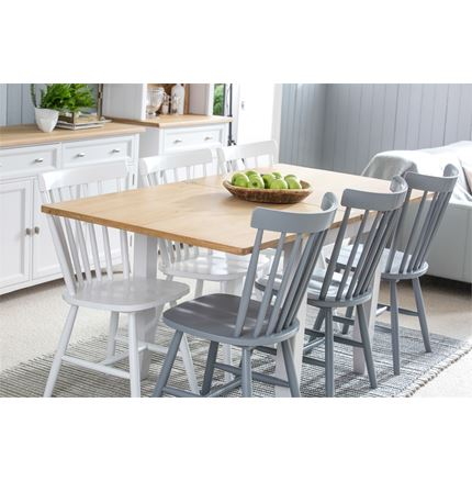 Grasmere Dining Furniture - 85cm-170cm Flip-Top Dining Table