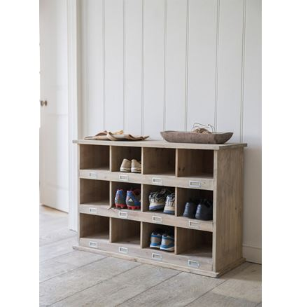 Hall Storage Bench - Chedworth 12 Shoe Locker