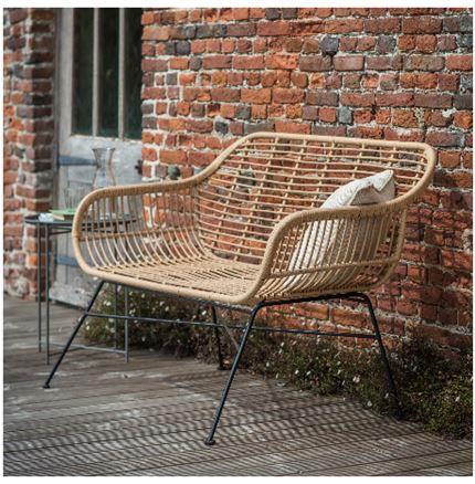 Hampstead Bench - Outdoor Rattan Furniture