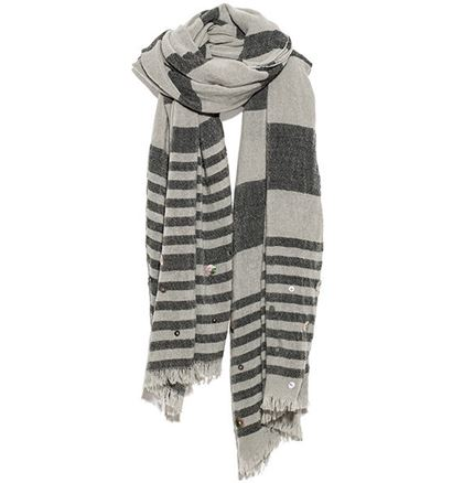 Hem & Edge Scarves by One Button