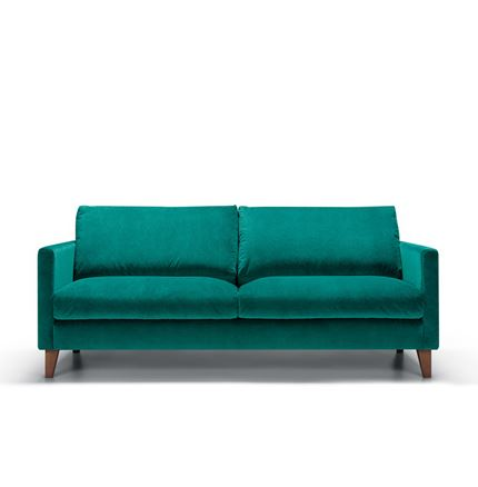 Impulse 2.5 seater Sofa by Sits - in Bellis Turquoise