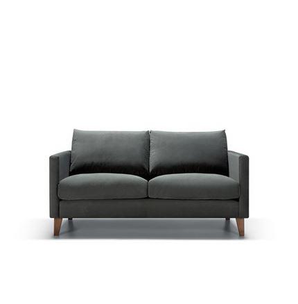 Impulse 2 seater Sofa by Sits - in Bellis Dark Grey