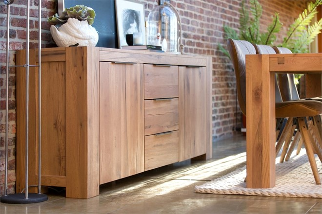 Loft Dining Furniture - Wide Side Board