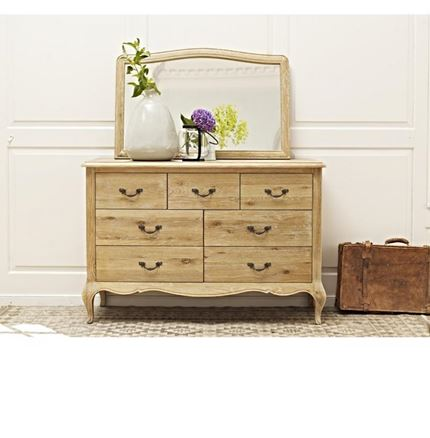 Maison Bedroom Furniture - 7 Drawer Wide Chest