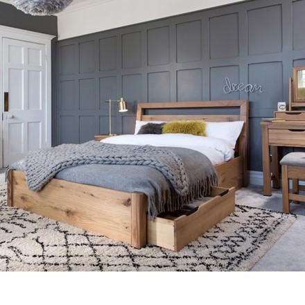 Milan Bedroom Furniture - 135 Bed