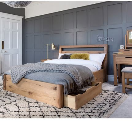 Milan Bedroom Furniture - 180 Bed