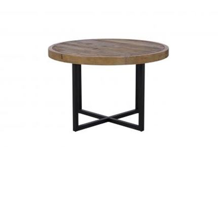 Nixon Dining Furniture - 120cm Round Dining Table