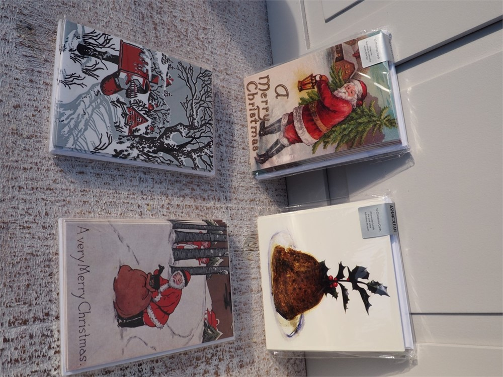 Pack of 10 Christmas Cards by Ashmolean -B