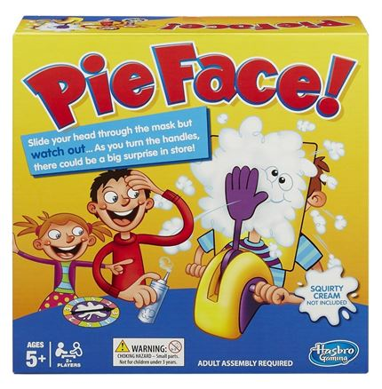 Pie Face action game by Hasbro - With FREE Delivery