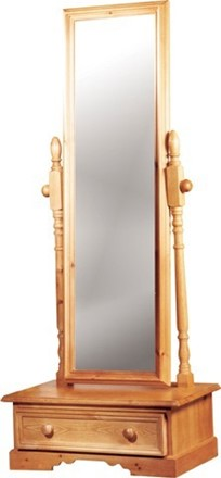 Rossendale Cheval Mirror With Drawer