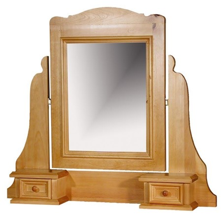Rossendale Dressing Table Mirror With Trinket Boxes