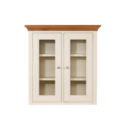 Salisbury Dining Furniture - Narrow Glazed  Dresser Top