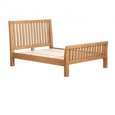 Sienna Bedroom Furniture - Bed 150cm Bedstead