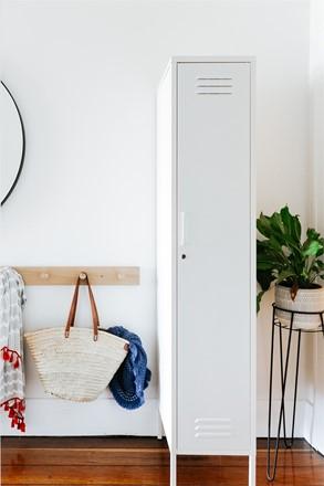 Skinny Locker by Mustard Made - White