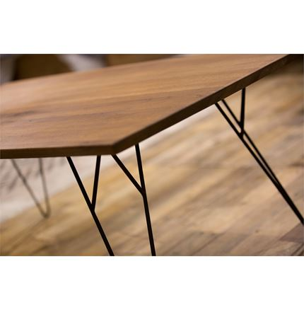 Soho Slight Coffee Table - Solid Oak