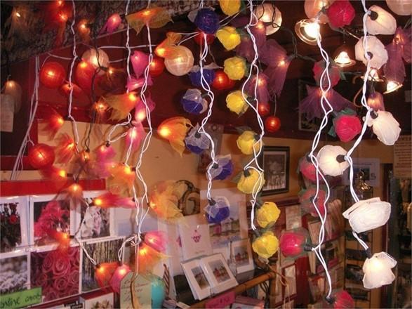 String of lights - Rose Design