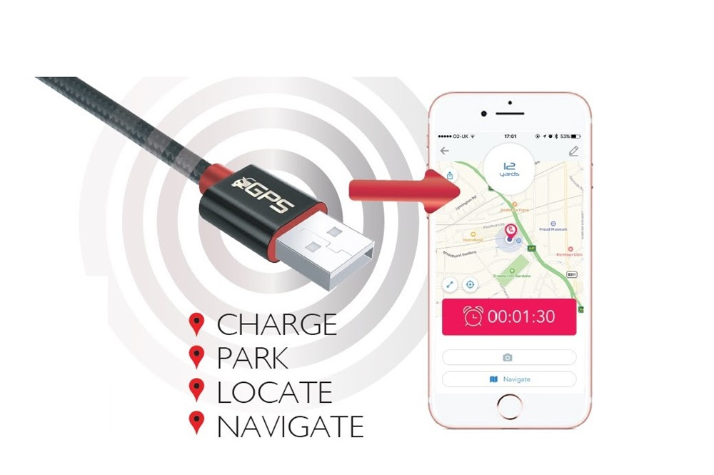 Ultimate Charging Cable - GPS Car Locator charging cable