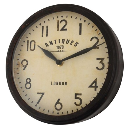 Wall Clock - Antiques 1870 London