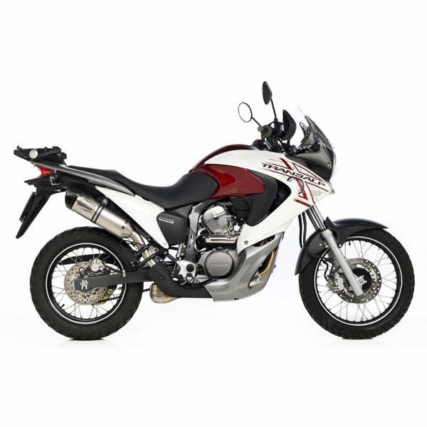 honda xl700 v transalp lv one evo slip on exhaust. Black Bedroom Furniture Sets. Home Design Ideas