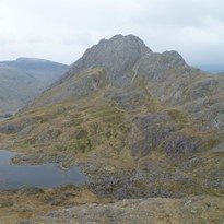 Two Climbers spend night on Tryfan