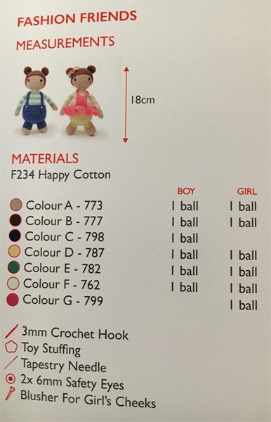 Happy Cotton Pattern Booklet 5 From Sirdar Patterns Wool4less