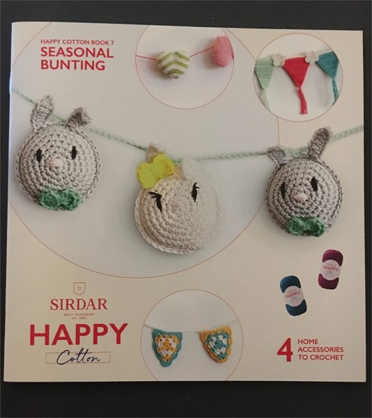 Happy Cotton Pattern Booklet 7 From Sirdar Patterns Wool4less