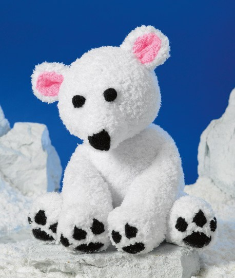 James C Brett Polar Bear Pattern Jb326