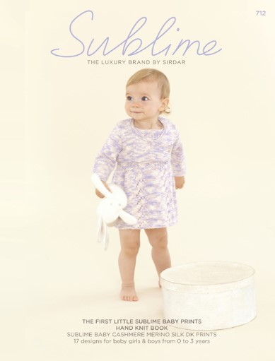 Sublime Baby Prints Hand Knit Book 712