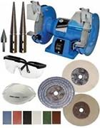 Bench Grinder Polisher Kit For Polishing all Metal Types  (click for larger image)