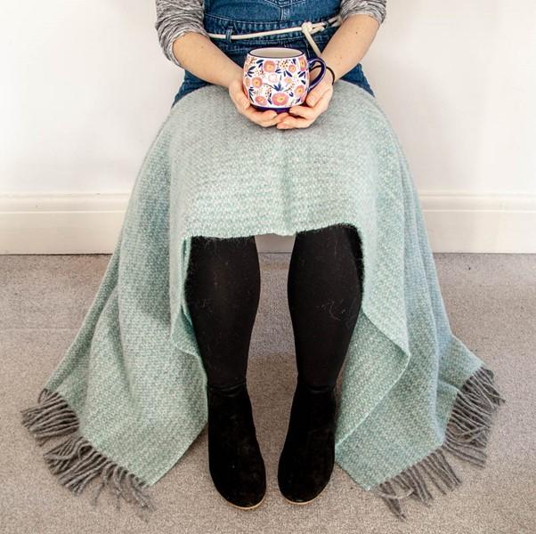 Wool Blanket Online. British Made Gifts. Illusion Wool