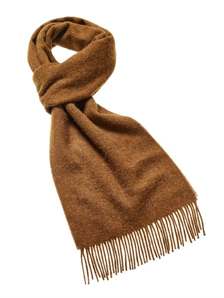 5b93007dd3e46 Wool Blanket Online. British made gifts. Luxury lambswool scarf Chocolate  Brown